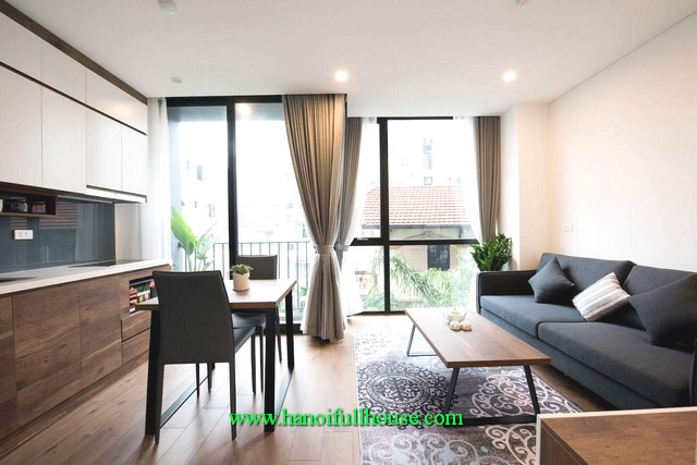 Budget to rent 1-bedroom apartment in Tay Ho district, Hanoi