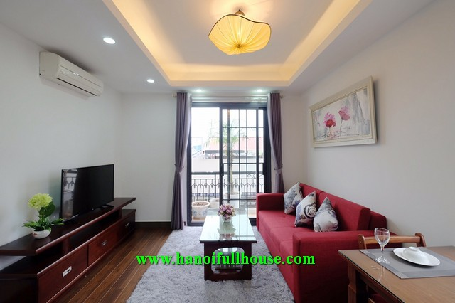 Cozy apartment on Linh Lang street with professional service for rent.
