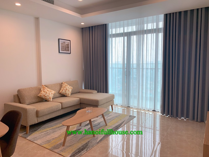 Unique 2 bedroom apartment with full facilities in Sund Grand on Thuy Khue street