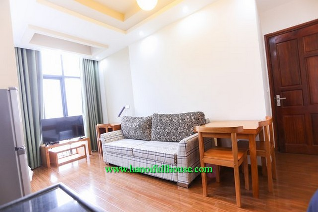 Cau Giay- A good apartment with full service to rent, 01 bedroom, furnished and near KeangNam Tower