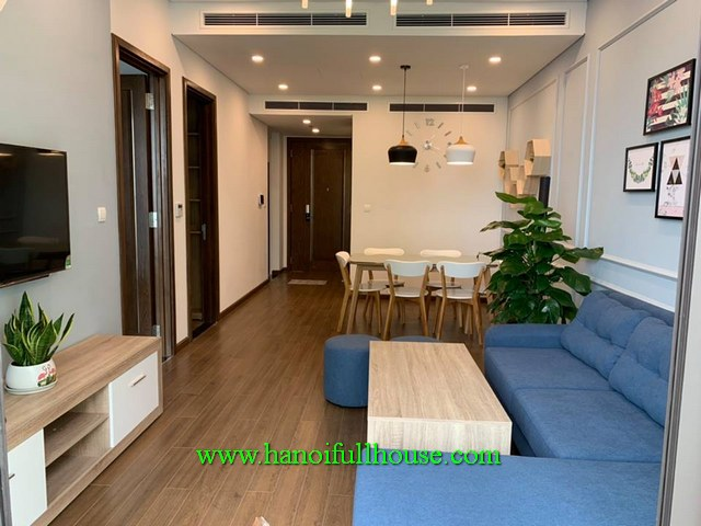 Lovely 2 bedroom apartment in Sungrand City Ancora Residence, Hai Ba Trung dist for lease