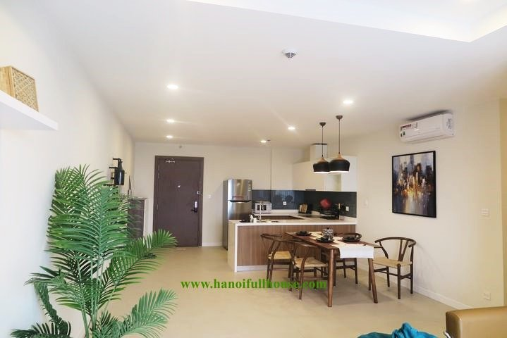 Wonderful 2 bedroom apartment in Xuan La street for rent - Kosmo building