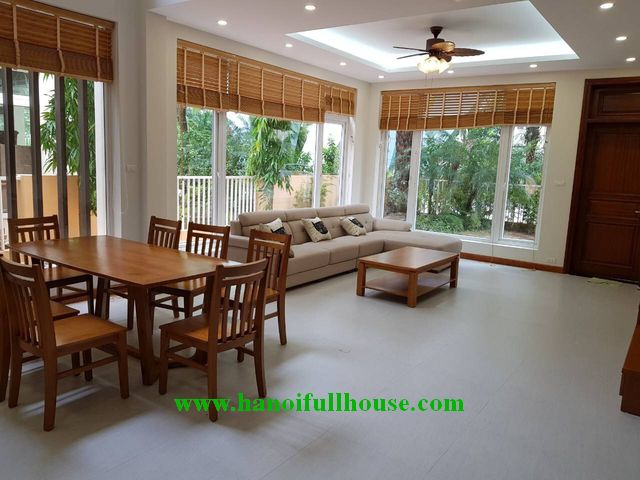 Reasonable Villa in Palm Garden Viet Hung for rent with 4 bedrooms
