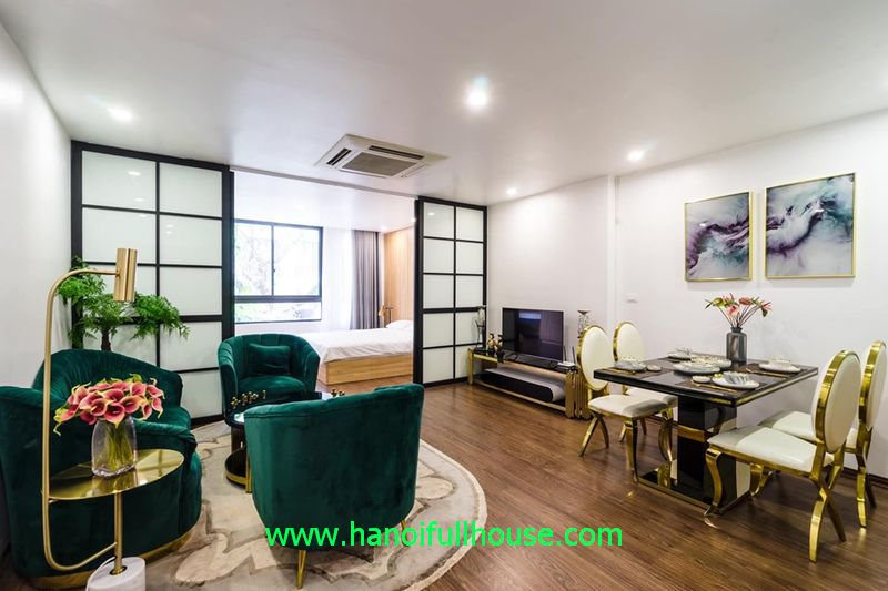 A luxury one-bedroom apartment located on Hai Ba Trung dist for foreigners to rent