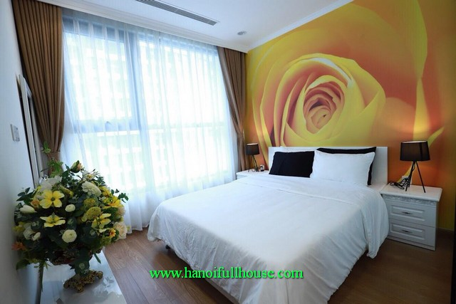 Swimming pool luxury apartment with modernly furnished in Parkhill Hanoi
