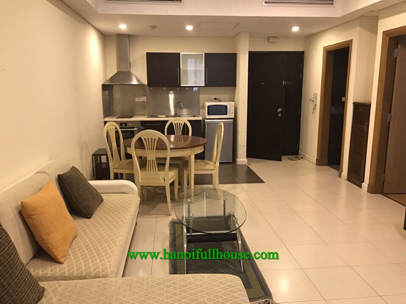 Nice one bedroom apartment on the high floor in Pacific Place 83B Ly Thuong Kiet street for rent.