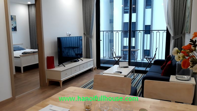 Nice apartment in Hinode City - Brand new urban at 201 Minh Khai for rent