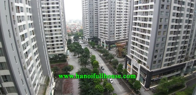 Lovely 2 - bedroom apartment for rent in P02 Time City for rent.