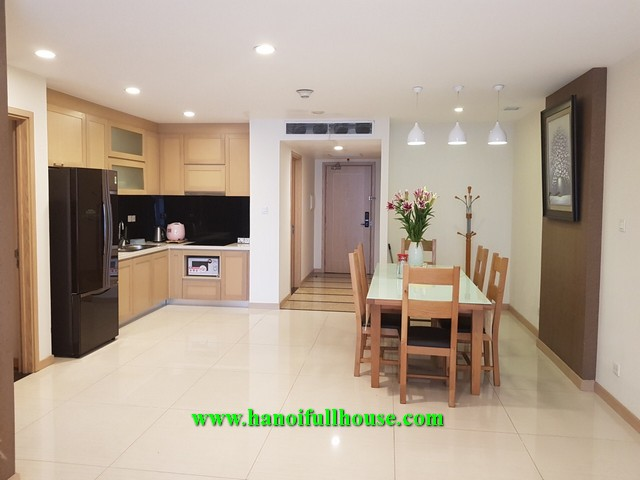 Lovely 3 - bedroom apartment in Thang Long Number One Urban for rent.