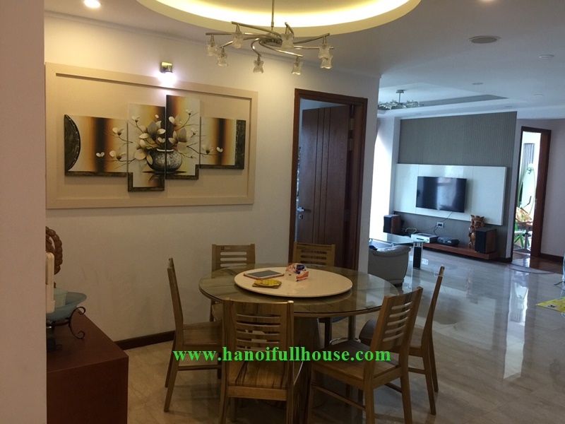 Large and luxury 03 bedrooms apartment on L2 Ciputra Urban for lease