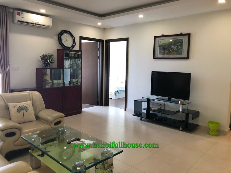 Nice and cheap apartment with 2 bedrooms in FLC 36 Pham Hung building for rent