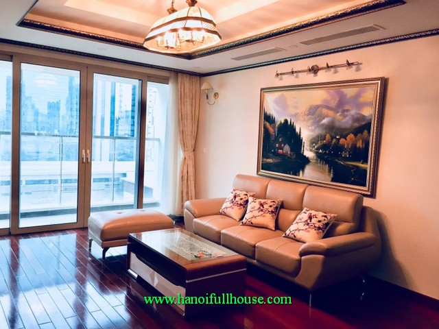 Hanoi Mandarin Garden- three bedroom condo, fully furnished, bright
