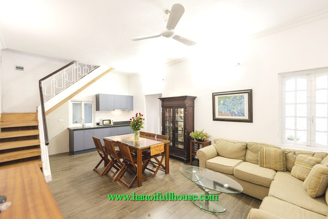 Cosy 2-storey house for rent at Bo De street, Long Bien district