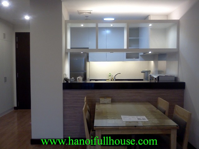 2 bedroom fully furnished apartment for rent in Hoa Binh Green, Lane 376 Buoi street, Ba Dinh dist
