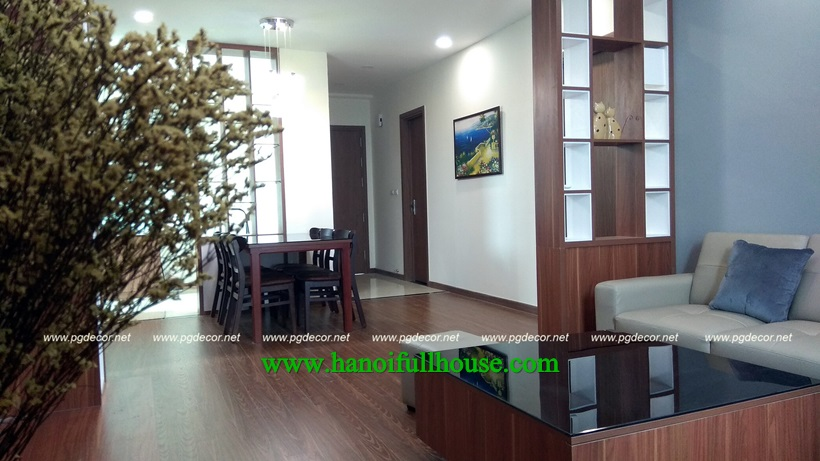 EcoGreen Nguyen Xien for rent 3 bedroom apartment