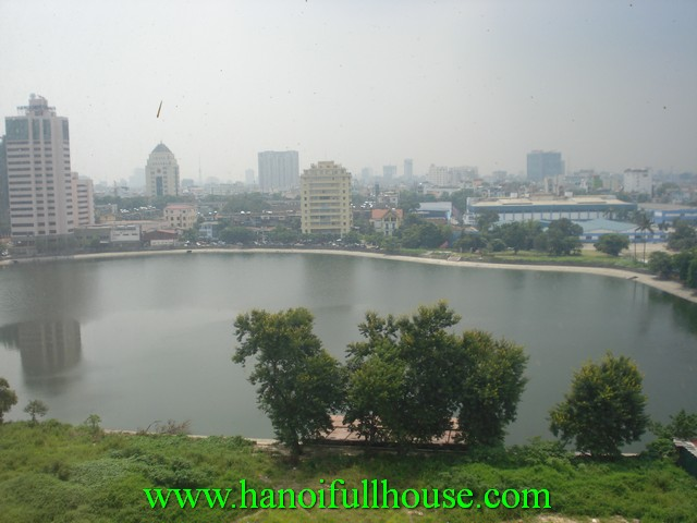3 bedroom fully furnished apartment for rent in 1517 Ngoc Khanh street, Ba Dinh dist, Hanoi, Vietnam