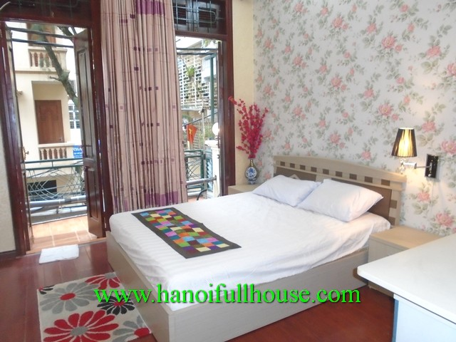 House in Ha Noi centre for rent. House with 3 bedrooms, 3 bathroom, modern furnished