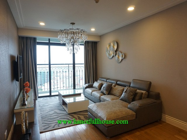 Luxury 2-bedroom apartment in Hoang Thanh building, Hai Ba Trung for lease