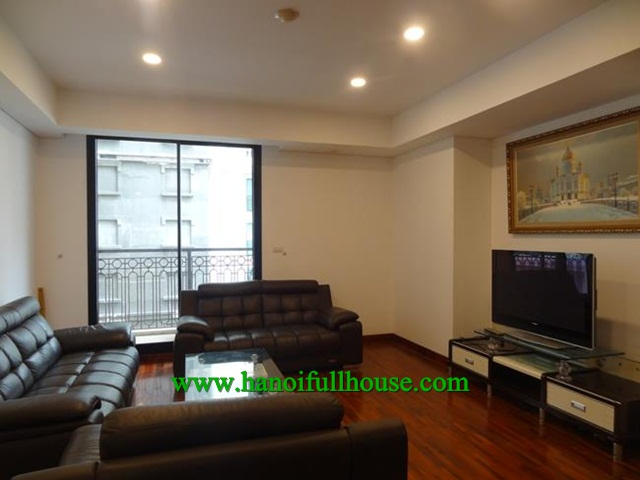 Beautiful apartment is located in Luxury building - Pacific Place - 83 Ly Thuong Kiet street.
