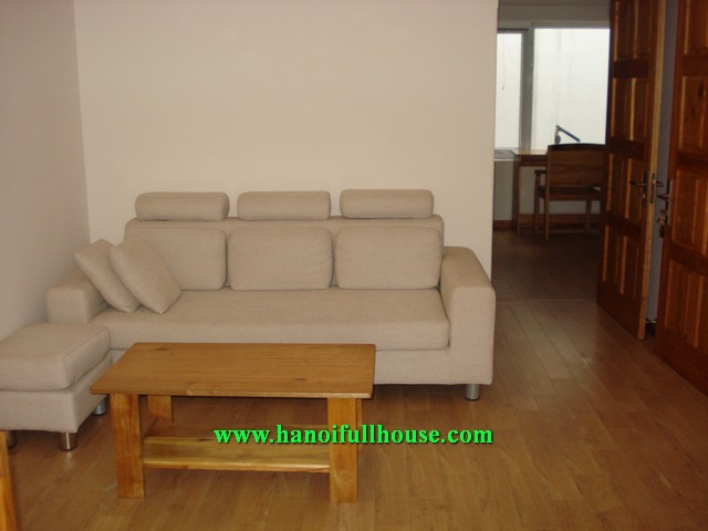 One bedroom nice serviced apartment in To Ngoc Van street for rent