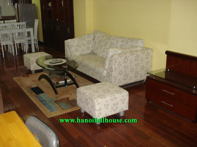 Nice serviced apartment in Ha Noi for rent now, 2 bedroom, 2 bathroom, fully furnished