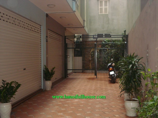 4 bedroom beautiful house for rent in Kim Ma street, Ba Dinh dist, Ha Noi