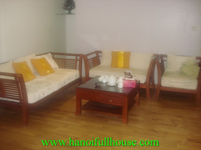 Tay ho serviced apartment with 2 bedrooms for rent in An Duong street, Tay Ho dist, Ha Noi, Vietnam