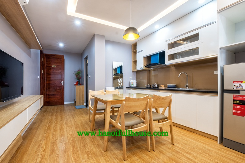 High quality and comfortable service apartment for rent on Dao Tan street