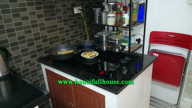 Amazing 4 BRs house in Dinh Cong street, Hoang Mai dist for rent