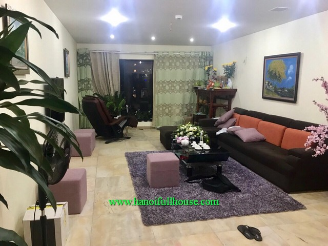 Budget to rent an apartment with three bedroom, fully furnished at Ngoc Khanh Plaza building