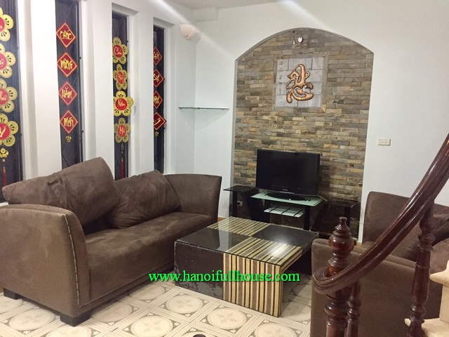 Two bedroom private house in Kim Ma street, Ha Noi for lease