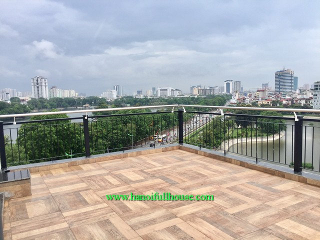 1-bedroom serviced apartment in Hai Ba Trung district, Ha Noi for lease