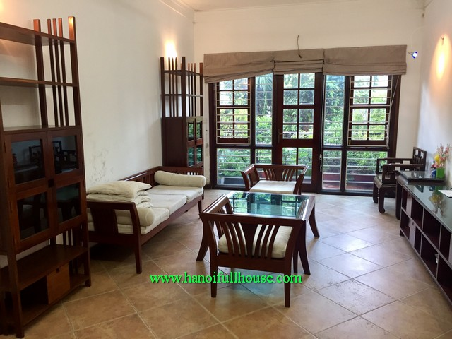 A modern house has four bedroom for lease in Dang Thai Mai, Tay Ho
