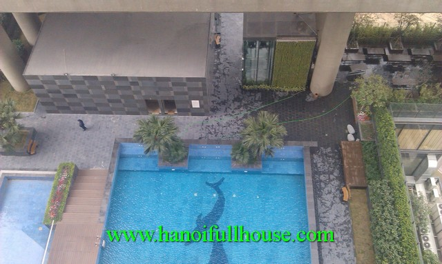 Dolphin Plaza Hanoi apartment for rent