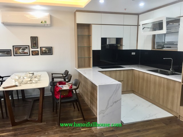 Three bedroom apartment in D' Leroi Soleil-Tan Hoang Minh on Xuan Dieu street, Quang An Ward, Tay Ho dist