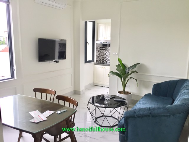 Lovely one bedroom apartment in a brand new building in Ba Dinh center
