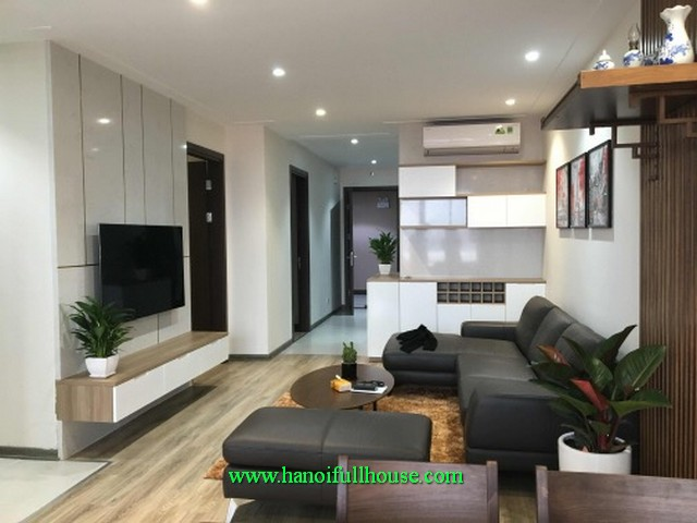 A beautiful apartment three bedroom in Northern Diamond tower on Co Linh street, its close to Aeon Mall