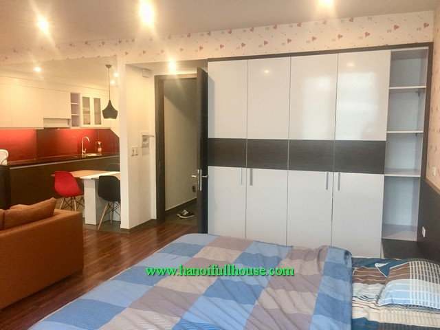 1-bedroom perfect serviced apartment rentals in Hanoi capital center