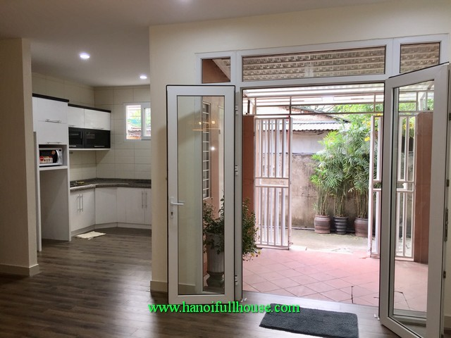 A quality house with two bedroom fully furnished in Tay Ho district for lease