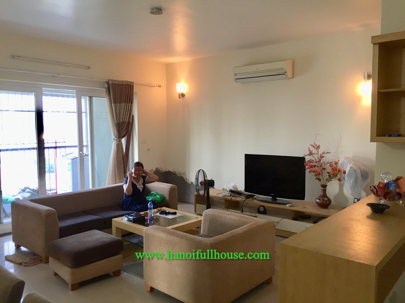 Two bedrooms apartment, nice furniture with cheap price in Vuon Dao for rent