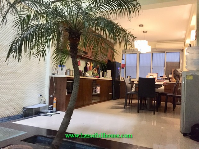 Find a nice house in Hoan Kiem district to stay and work. Four bedroom furnished house in Hanoi center