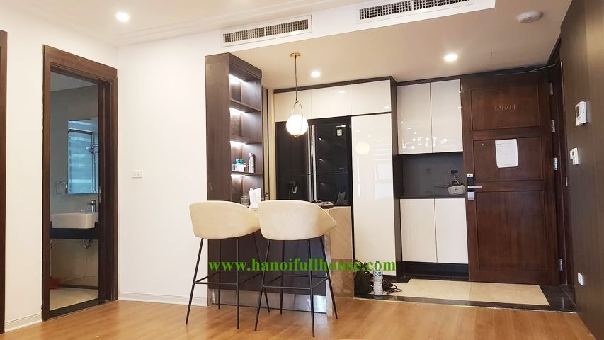 Nice and luxurious 1 bedroom apartment for rent in Hoang Thanh building - 114 Mai Hac De street