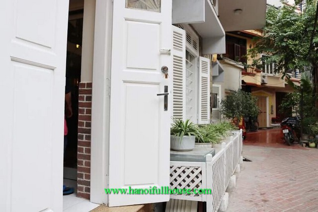 House in central Hanoi for lease. Rental two bedroom house, fully furnished and quiet area