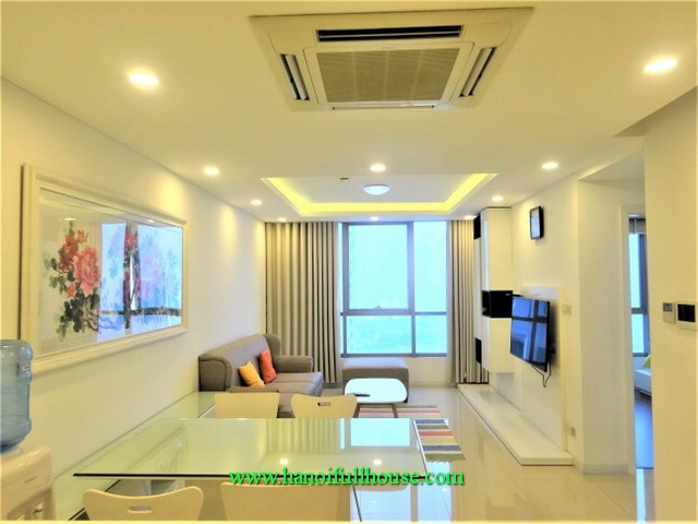 Thang Long Number One- Two bedroom condo with full luxury furnishing for lease