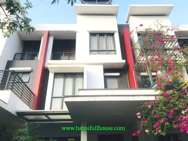 Housing rental agency in Hoang Mai district. A villa in Gamuda urban for lease