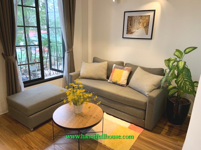 High quality furnishings and far view apartment 1-bedroom in Trinh Cong Son Street, Tay Ho