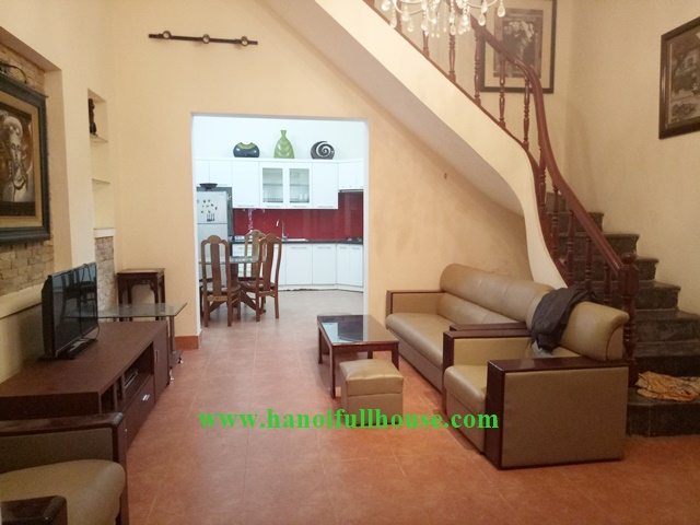 Cheap price, 3br house to lease in Buoi street, Ba Dinh, Hanoi