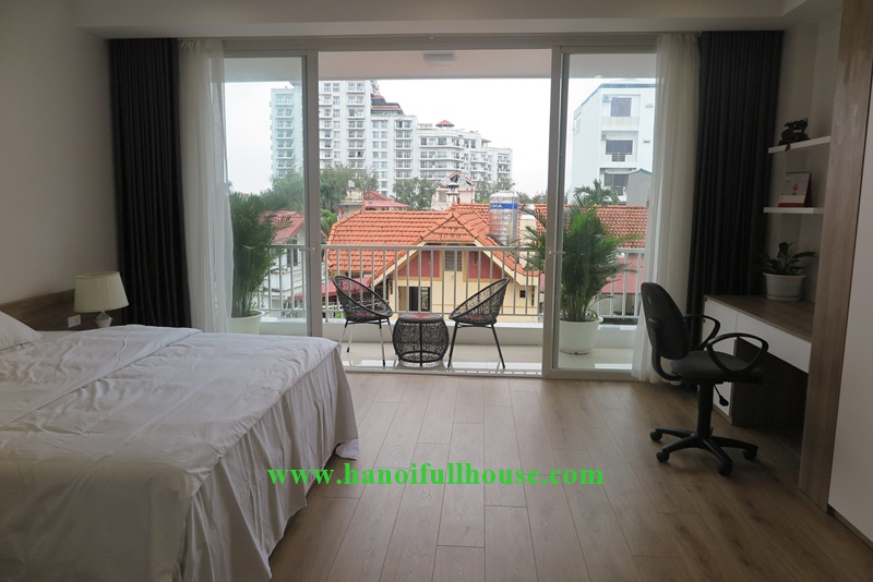 The new 02 bedrooms flat with a lots of natural light on Dang Thai Mai street, Tayho, Hanoi