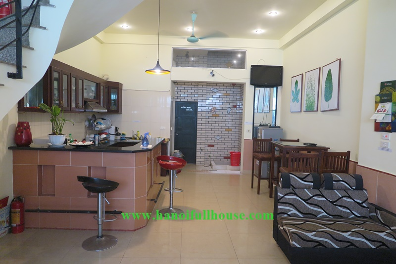6 bedrooms house, big rooftop on Nghi Tam, suitable for sharing the house