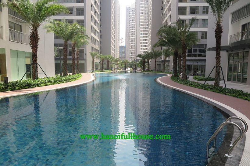 A branch new one bedroom apartment in Time City,Hai Ba Trung for rent